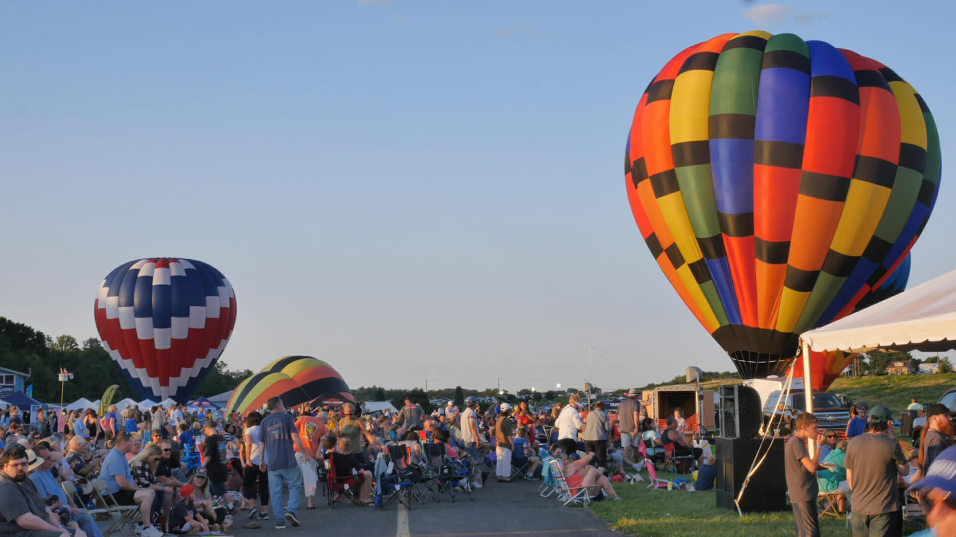 Chester County Balloon Festival Event Video