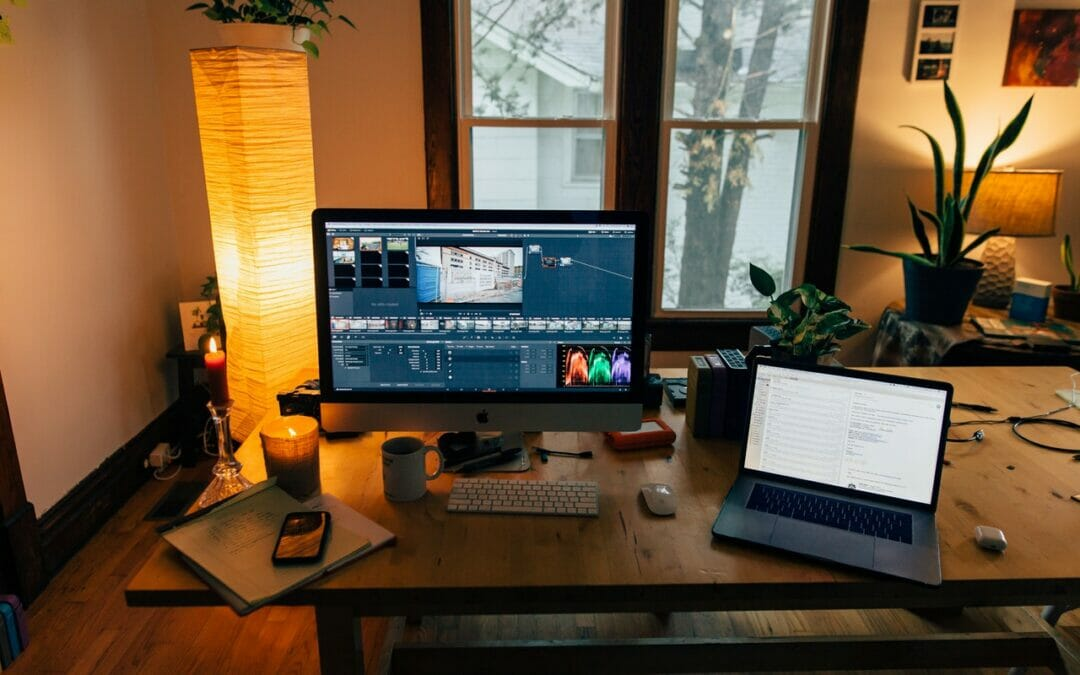 Video editing setup