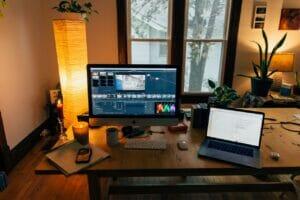 Video editing setup